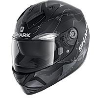シャーク リディル 1.2 メッカ マット ヘルメット ブラック