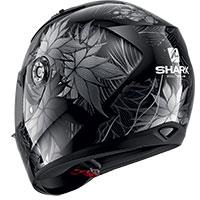 シャーク リディル 1.2 ネラム ヘルメット ブラック シルバー