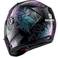 Casco Shark Ridill 1.2 Nelum Nero Glitter