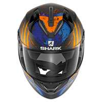 Shark Ridill Threezy Nero Arancio Blu