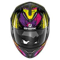 Shark Ridill Threezy Black Yellow Purple Lady