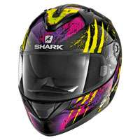 Shark Ridill Threezy Nero Giallo Viola Donna