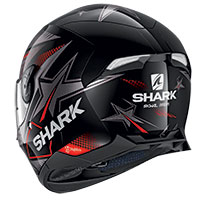 Casco Shark Skwal 2.2 Draghal Nero Rosso