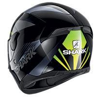 シャーク D-Skwal 2 メルキュリウム ヘルメット ブラックグリーン