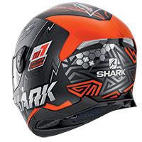 Casco Shark Skwal 2.2 Noxxys Mat Nero Arancio