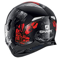 Shark Skwal 2.2 Nuk'hem Helmet Black Red