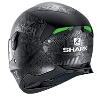 Casco Shark Skwal 2.2 Switch Rider Mat Argento