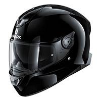 Shark Skwal 2 Blank White Led Helmet Black