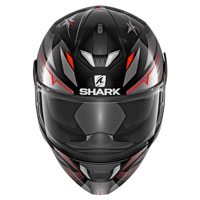 Shark Skwal 2 Draghal Anthracite Red