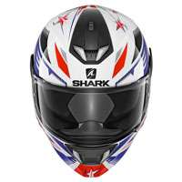 Shark Skwal 2 Draghal White Red Blue