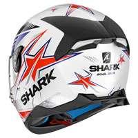 SHARK SKWAL 2 DRAGHAL WEISS ROT BLAU - 3