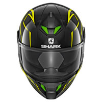 Shark Skwal 2 Flynn Black Fluo Yellow
