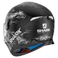 Shark Skwal 2 Hiya Nero Opaco Bianco