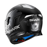 Shark Skwal 2 Oliveira Black Silver