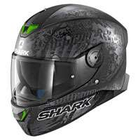 Shark Skwal 2 Switch Rider Nero Opaco Antracite