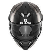 Shark Skwal 2 Warhen Nero Opaco Antracite