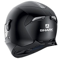 Casco Shark Skwal 2 Blank Mat White Led Nero