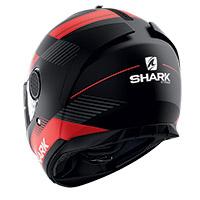 Casco Shark Spartan 1.2 Strad Mat Nero Rosso