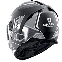 Casco Shark Spartan 1.2 Antheon Mat Nero Bianco