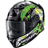 Casco Shark Spartan 1.2 Lorenzo Catalunya Gp Verde