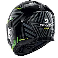 Shark Spartan 1.2 Kobrak Helmet Black Yellow Green