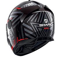 Shark Spartan 1.2 Kobrak Helmet Black Red