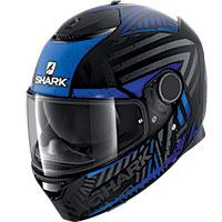 Shark Spartan 1.2 Kobrak Mat Helmet Black Blue