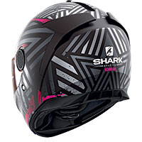 Shark Spartan 1.2 Kobrak Mat Helmet Black Violet