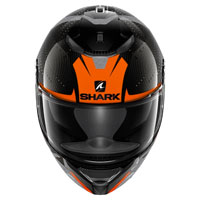 Shark Spartan Carbon Cliff Arancio