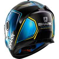 Shark Spartan Carbon Skin Guintoli Blue Yellow