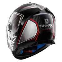 Shark Spartan 1.2 Carbon Skin Guintoli Black Red