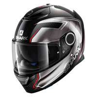 Shark Spartan Carbon Skin Guintoli Black Red