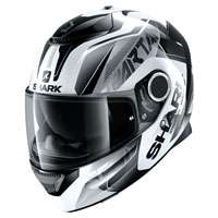 Shark Spartan 1.2 Karken White Black
