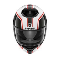 Shark Spartan 1.2 Priona White Red