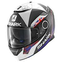 Shark Spartan Redding Mat Black Blue White