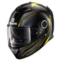 Shark Spartan Carbon Silicium Yellow