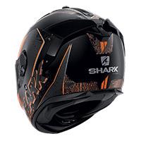 Casco Shark Spartan Gt Ryser Mat Nero Arancio
