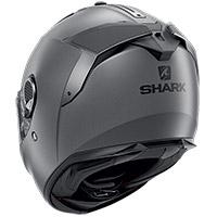 シャークスパルタンGTブランクマットヘルメットグレー