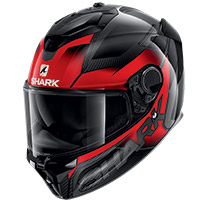 Shark Spartan Gt Carbon Shestter Helmet Red