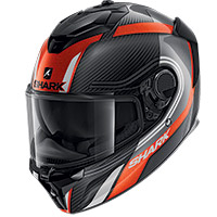 Casco Shark Spartan Gt Carbon Tracker Arancio