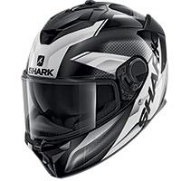 シャークスパルタンGTムースヘルメットブラックホワイト