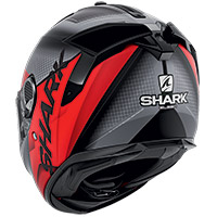 Shark Spartan Gt Elgen Mat Helmet Black Red