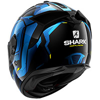 Casco Shark Spartan Gt Replikan Blu Chrome