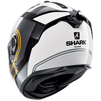 Shark Spartan Gt Tracker Helmet White Gold