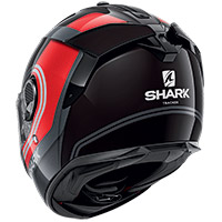 Shark Spartan Gt Tracker Helmet Red Silver