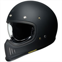 Shoei Ex-zero Black Matt