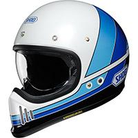 Shoei Ex-zero Equation Tc-11 Helmet Blue White