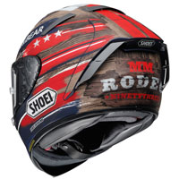 Shoei X-spirit 3 Marquez America Tc-2 Ltd