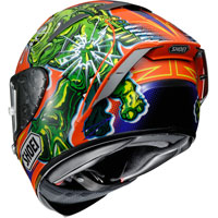 SHOEI X-SPIRIT 3 POWER RUSH TC-8