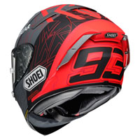 Shoei X-spirit 3 Mm93 Black Concept 2.0 Tc-1